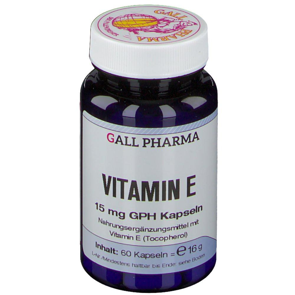 Gall Pharma Vitamin E 15 mg GPH Kapseln