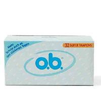 o.b.® Tampons super