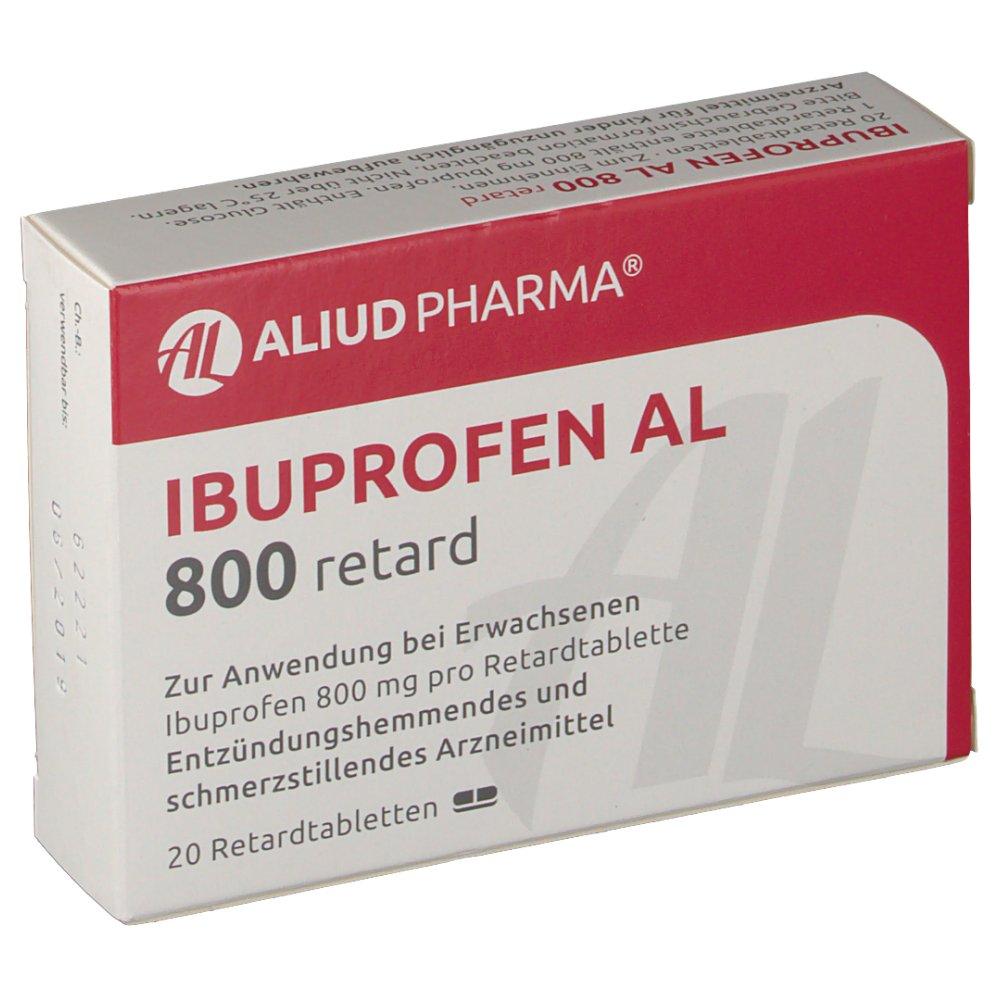 Ibuprofen 800 Mg Sr Tablets