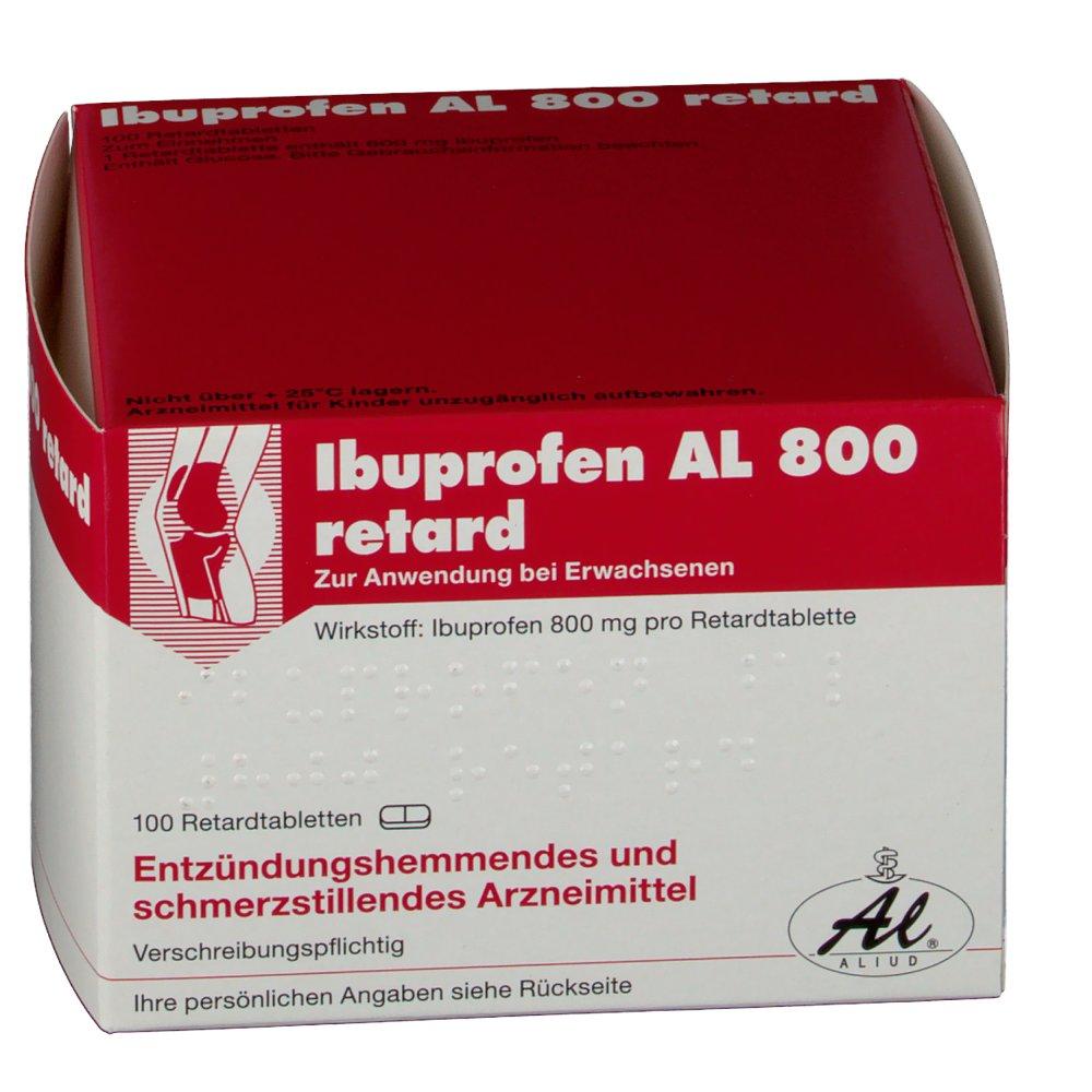 Ibuprofen Al 800 Retardtabletten - shop-apotheke.com