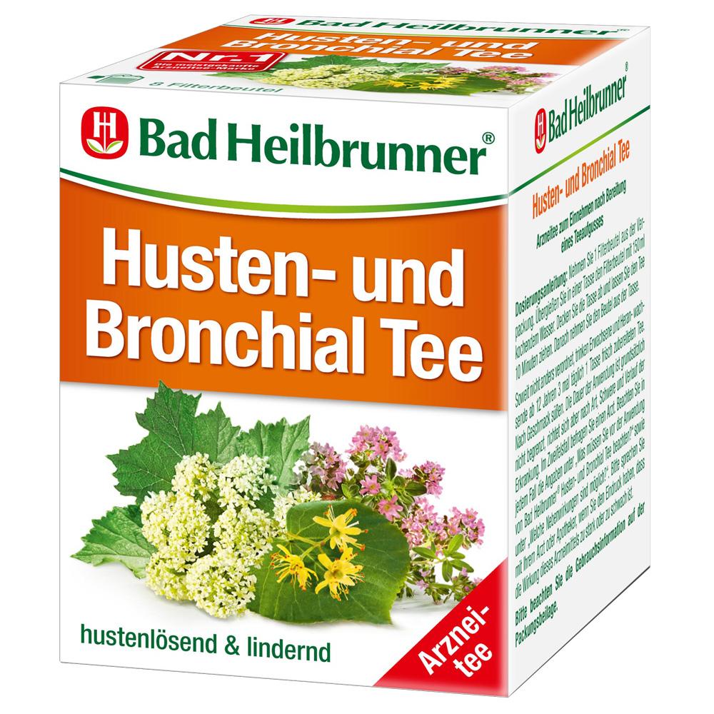 Bad Heilbrunner® Husten- und Bronchial Tee