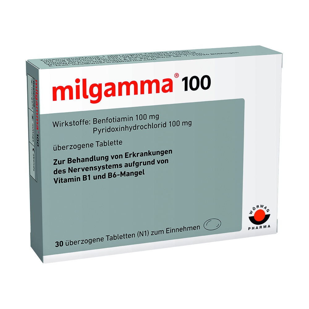 Milgamma 100 mg Dragees
