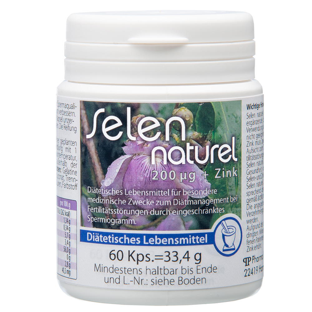 Selen naturel 200 µg + Zink