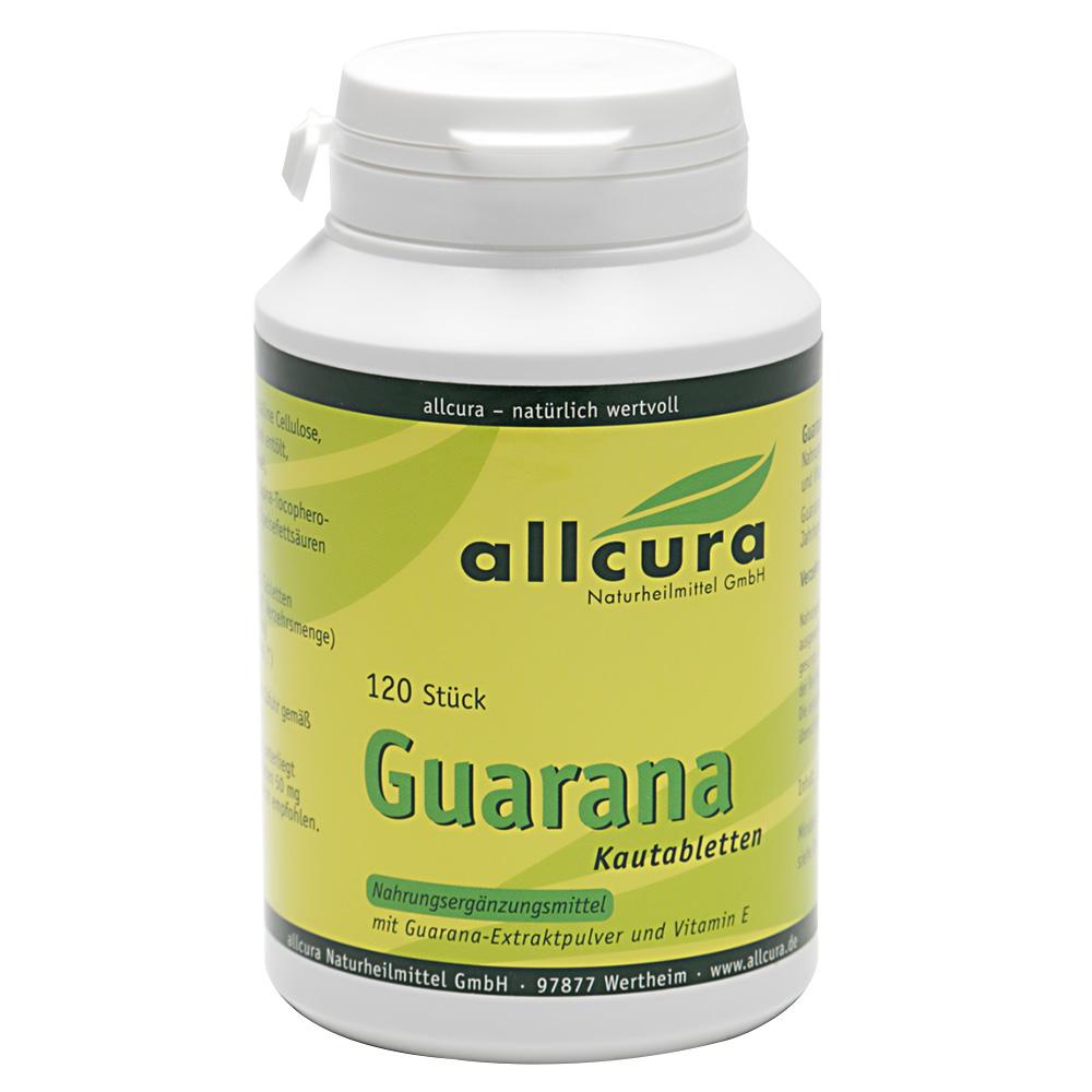 allcura Guarana Kautabletten