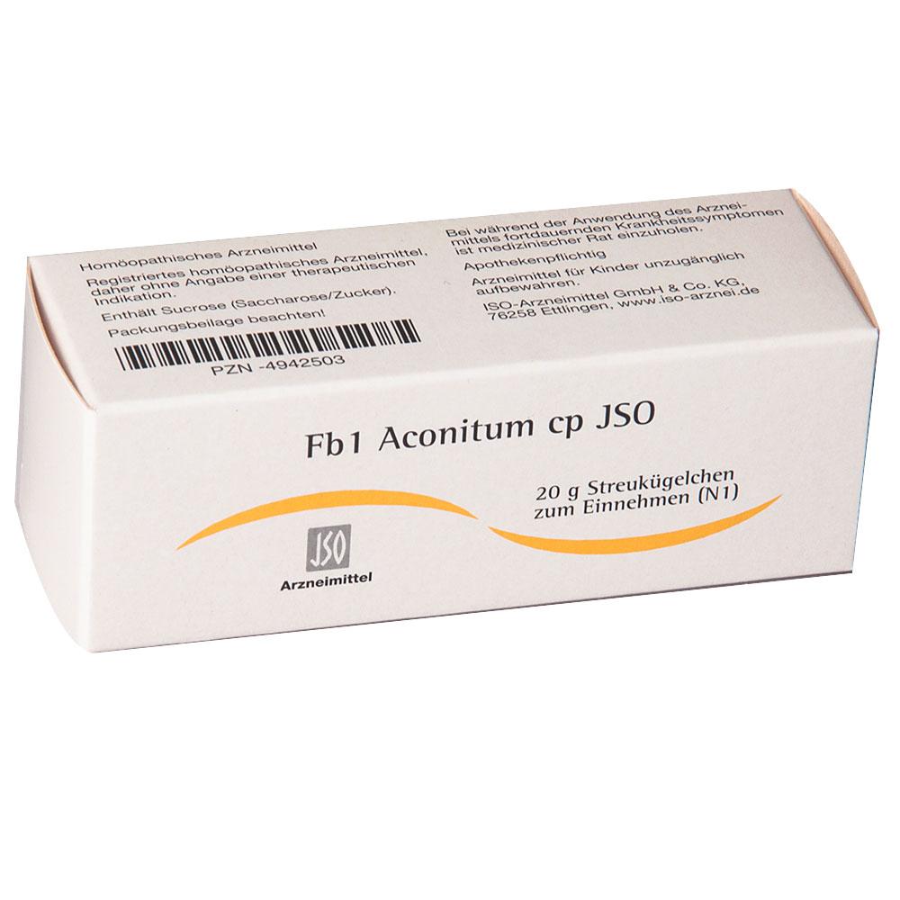 Fb1 Aconitum cp JSO Globuli