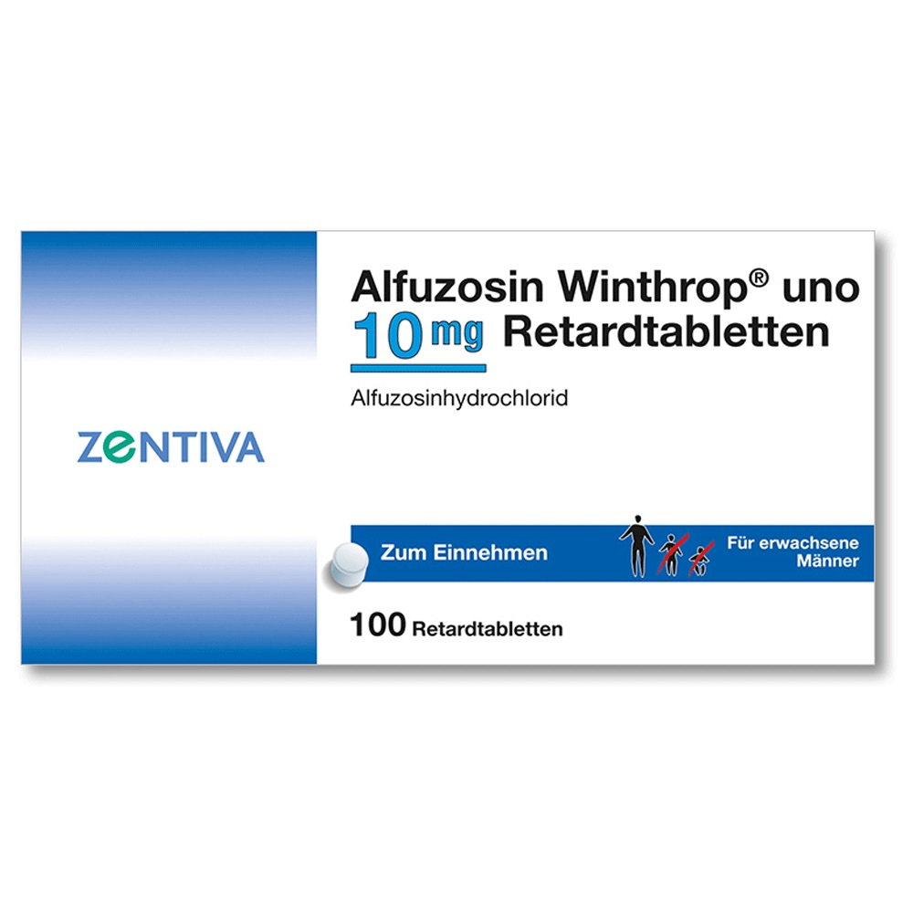 alfuzosin winthrop uno 10mg nebenwirkungen