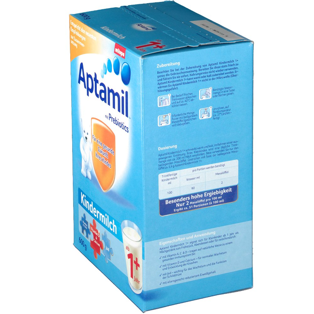 aptamil 1 oder 2