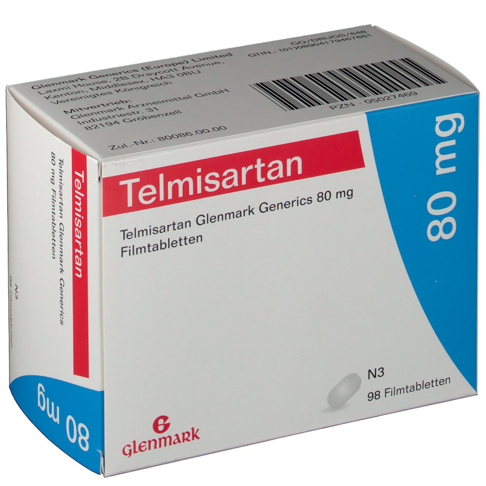 Telmisartan 80 Mg Amlodipine