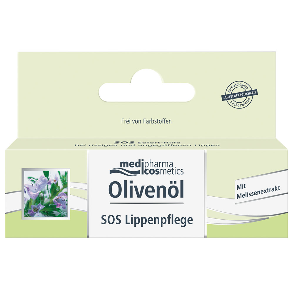 medipharma cosmetics Olivenöl SOS Lippenpflege Creme ...
