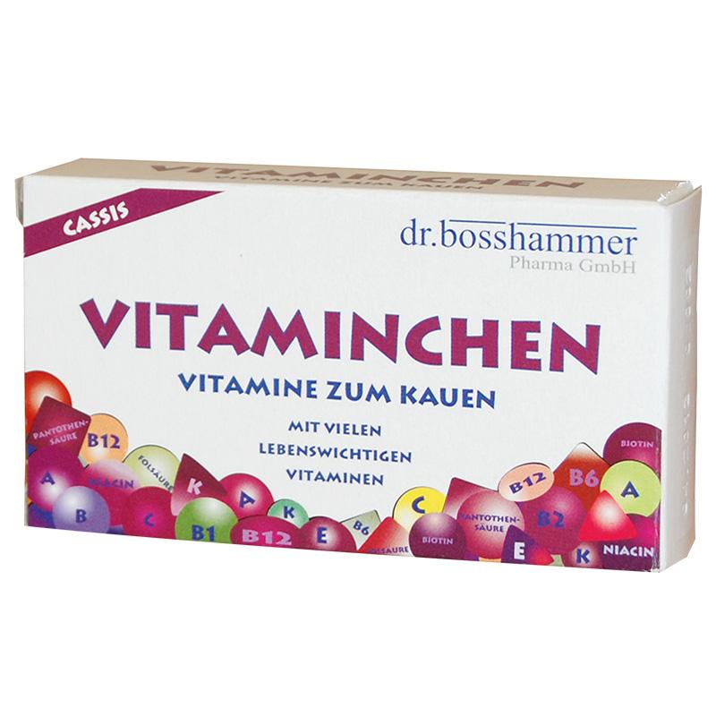 Vitaminchen Cassis Kaubonbons