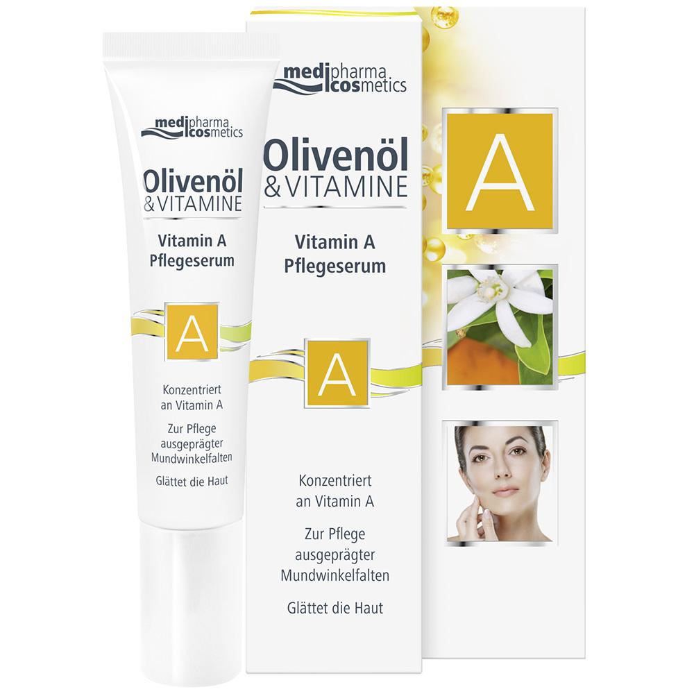 medipharma cosmetics Olivenöl & Vitamine Vitamin A Pflegeserum
