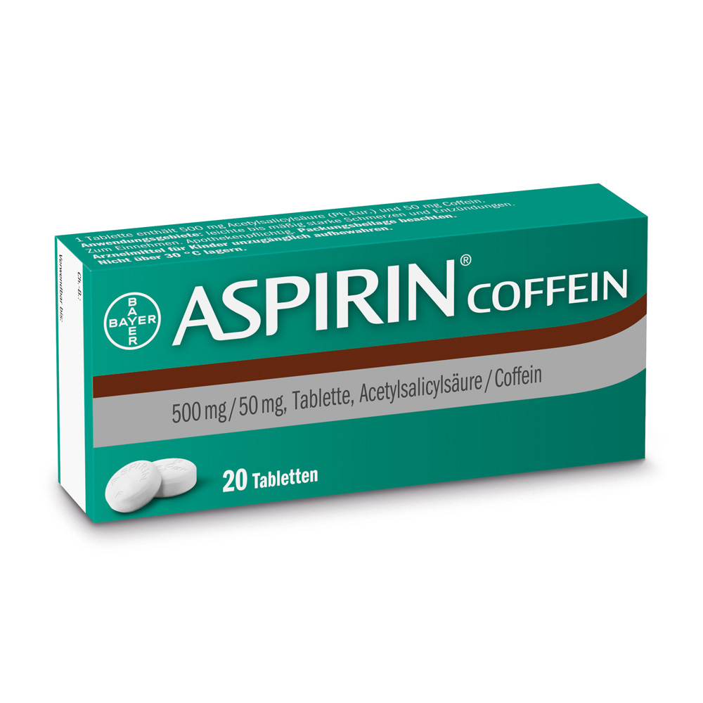 Aspirin® Coffein Tabletten