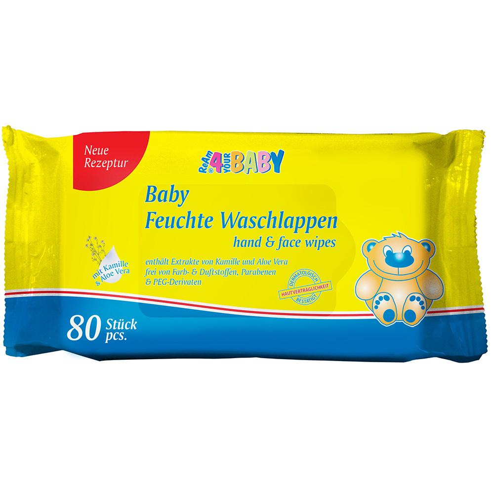 ReAm® 4 your Baby Feucht Waschlappen