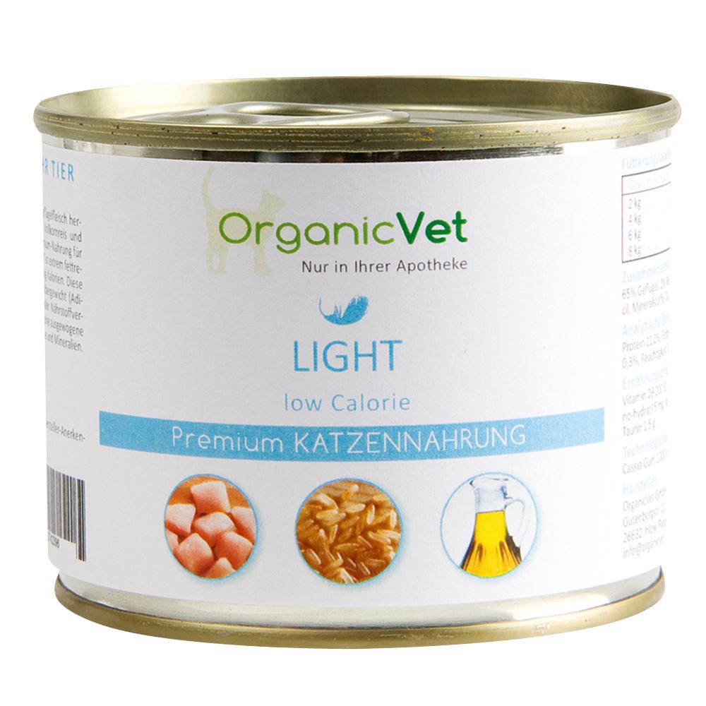 OrganicVet Katze Nassfutter Light low Calorie