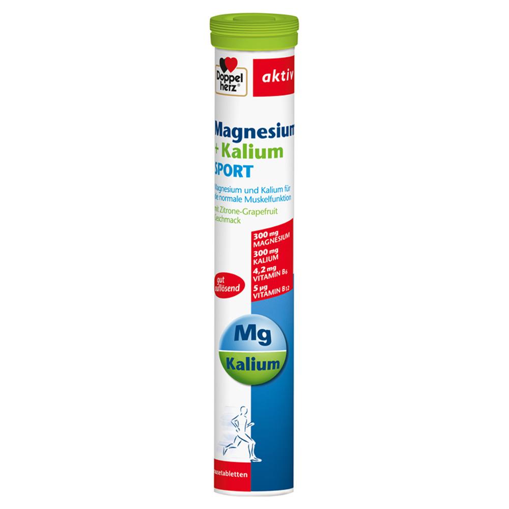 Doppelherz® aktiv Magnesium + Kalium Sport Brausetabletten