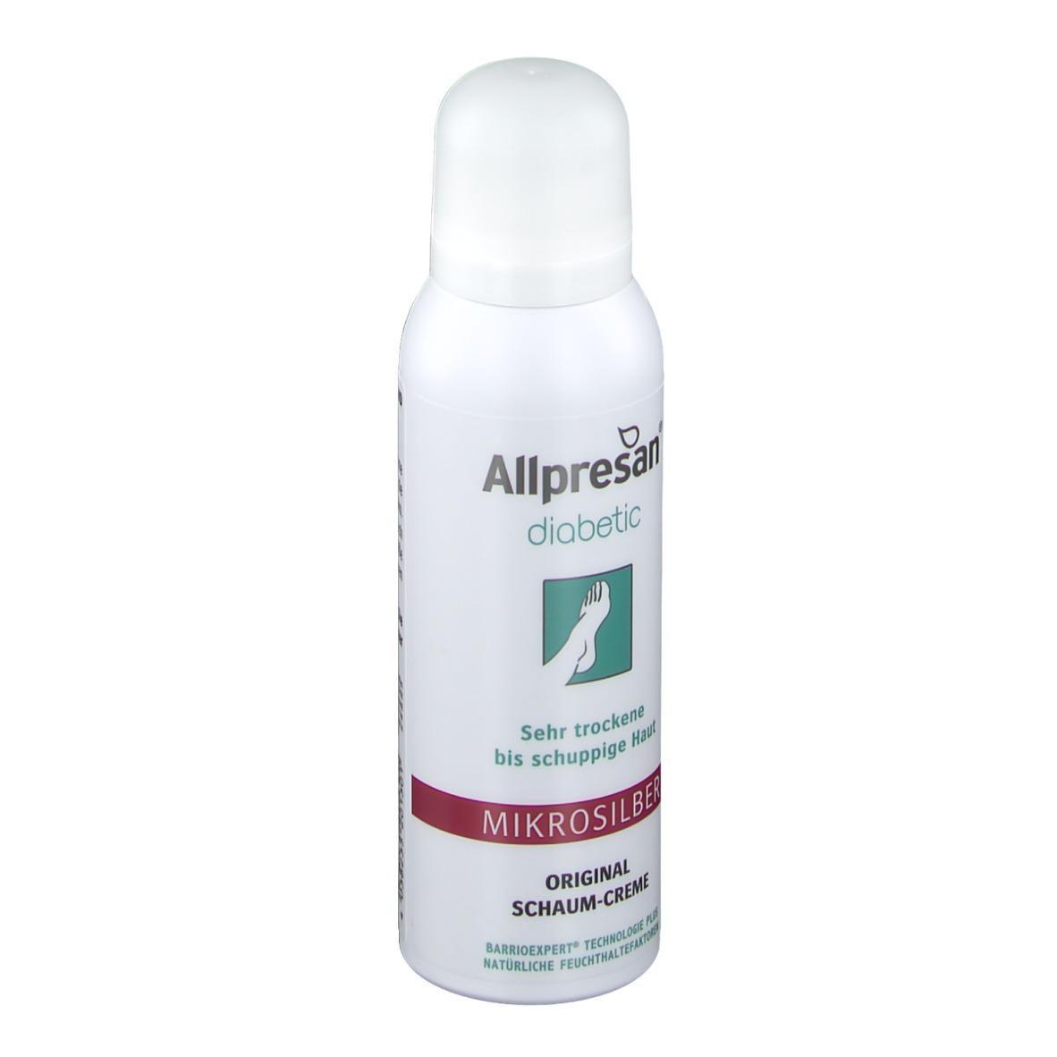 Allpresan diabetic Intensivpflege plus Mikrosilber 200 ml