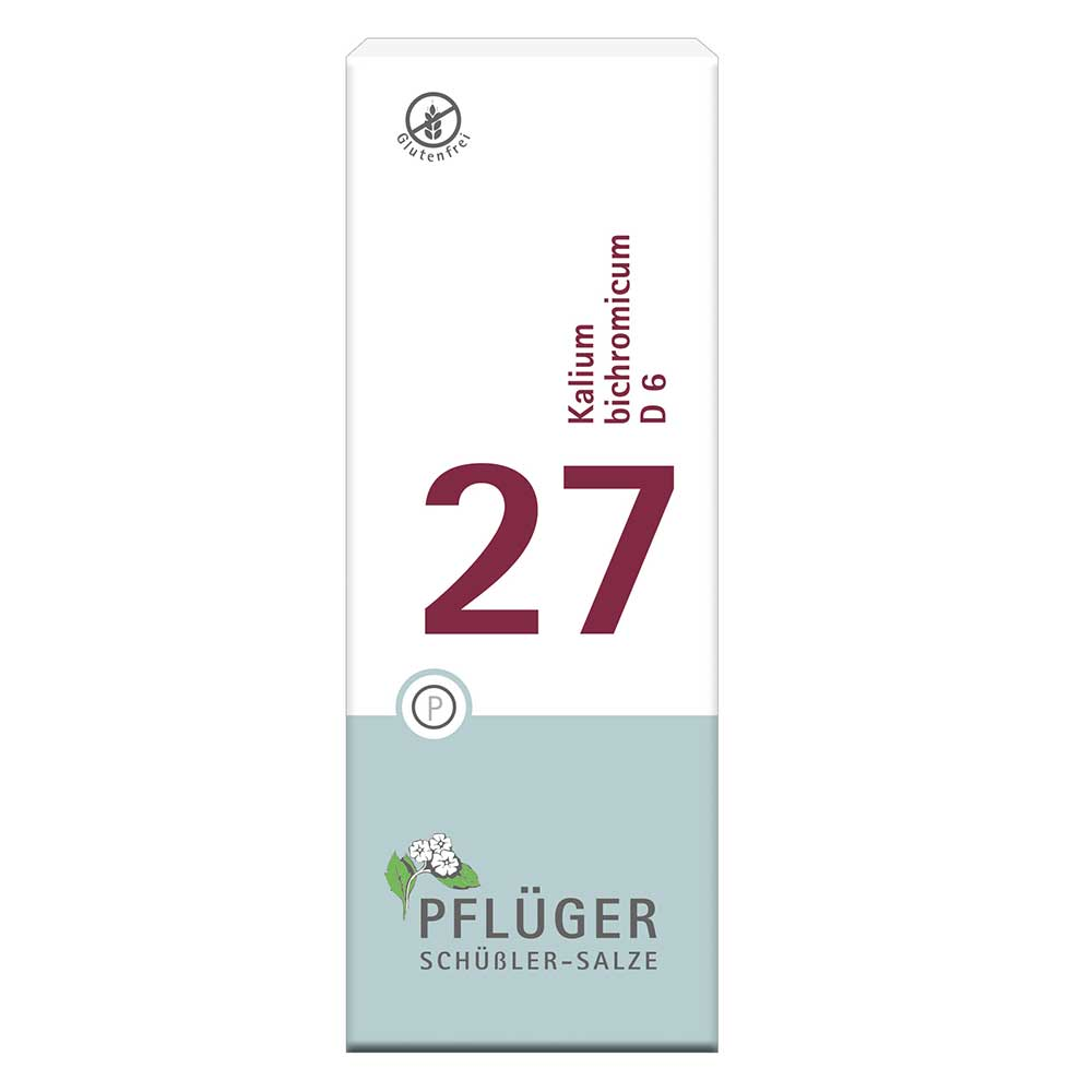 Biochemie Pflüger® Nr. 27 Kalium bichromicum D6 Tabletten