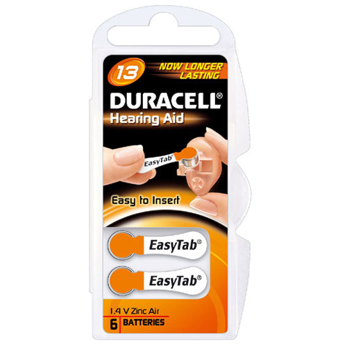 duracell batterien f r h rger te easytab 13 6 er blister. Black Bedroom Furniture Sets. Home Design Ideas