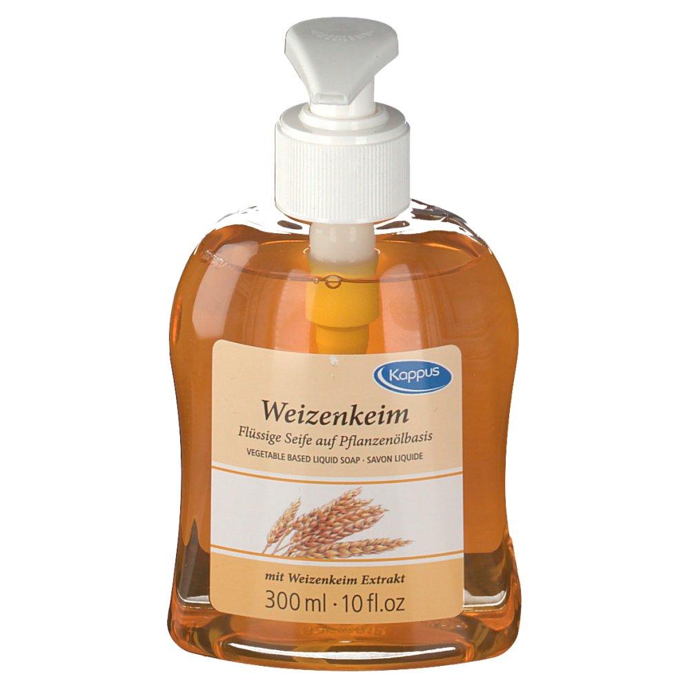 Kappus Weizenkeim Flüssigseife Pflanzenöl-Basis