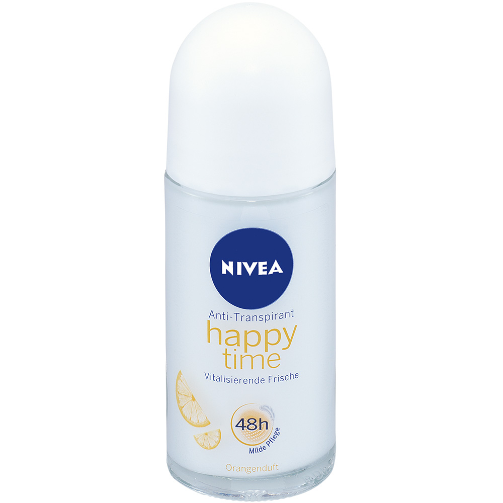 nivea deodorant anti transpirant roll on happy time shop. Black Bedroom Furniture Sets. Home Design Ideas