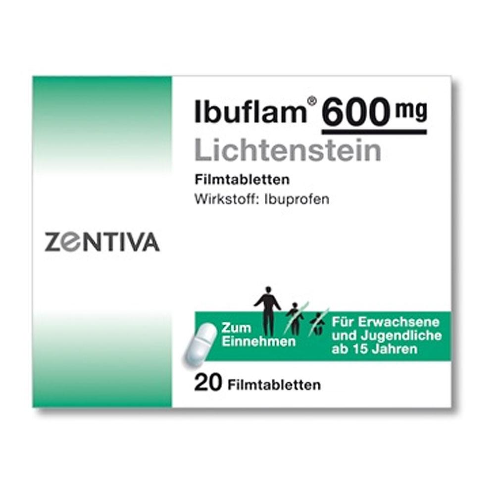 Ibuprofen Wirkungsdauer