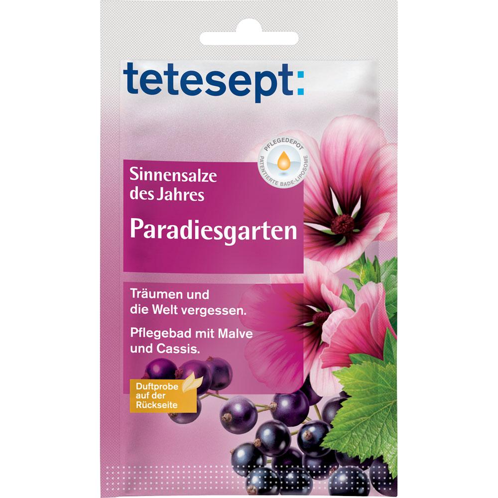tetesept® Sinnensalz Paradiesgarten