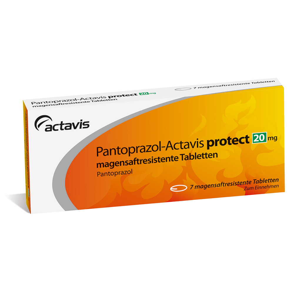 Pantoprazol-Actavis protect 20 mg