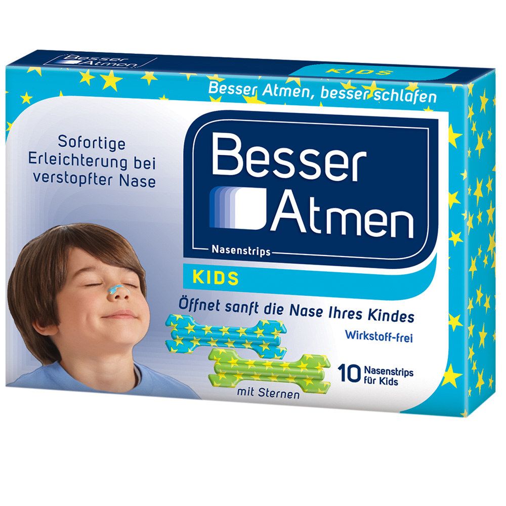 BesserAtmen Nasenstrips für Kinder