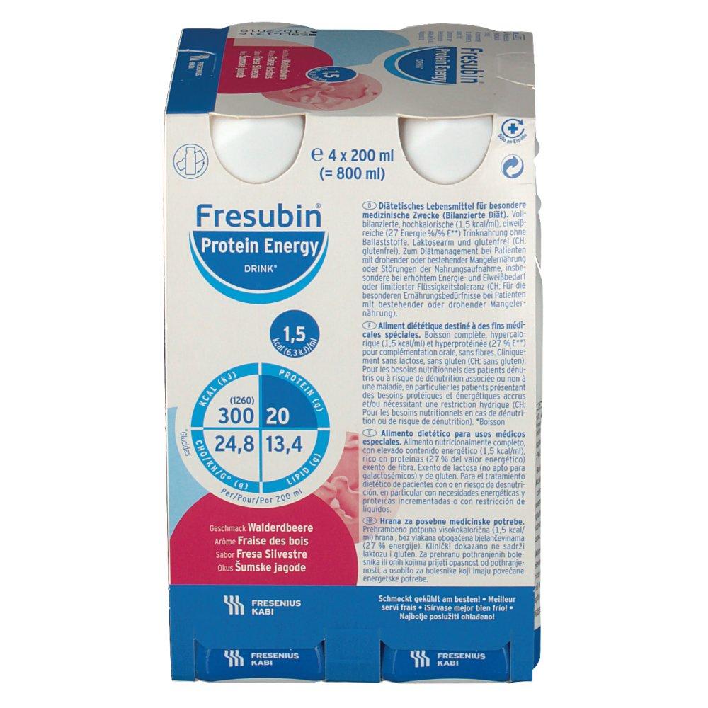 Fresubin® Protein Energy DRINK Walderdbeere - shop-apotheke.com