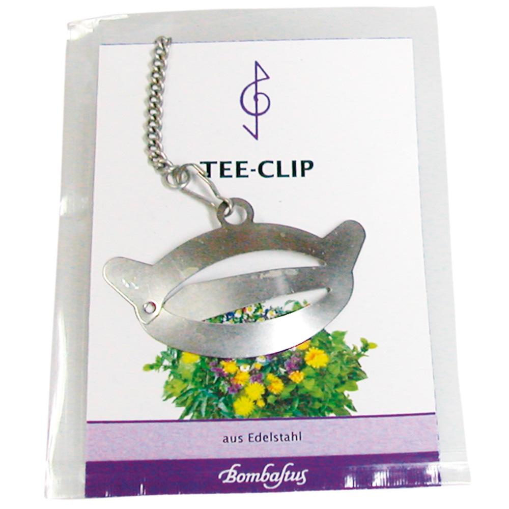 Bombastus Tee Clip mit Filterpapier