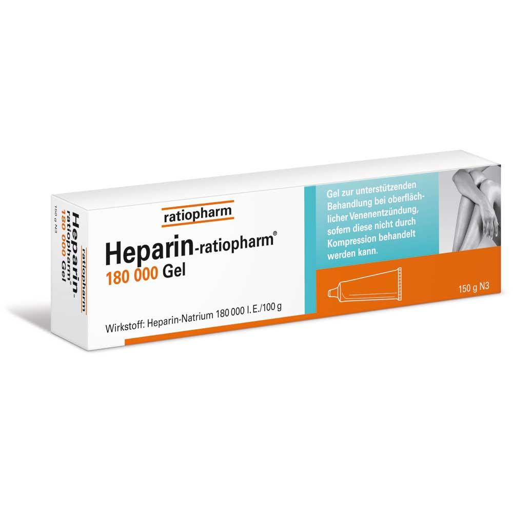heparin ratiopharm 180 000 i e gel shop. Black Bedroom Furniture Sets. Home Design Ideas
