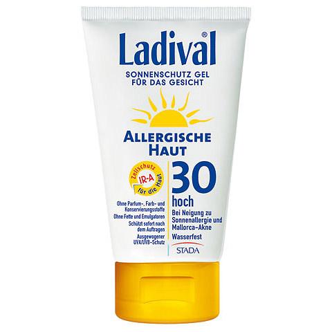 Ladival® Sonnenschutz Gel Allergische Haut für das Gesicht LSF 30