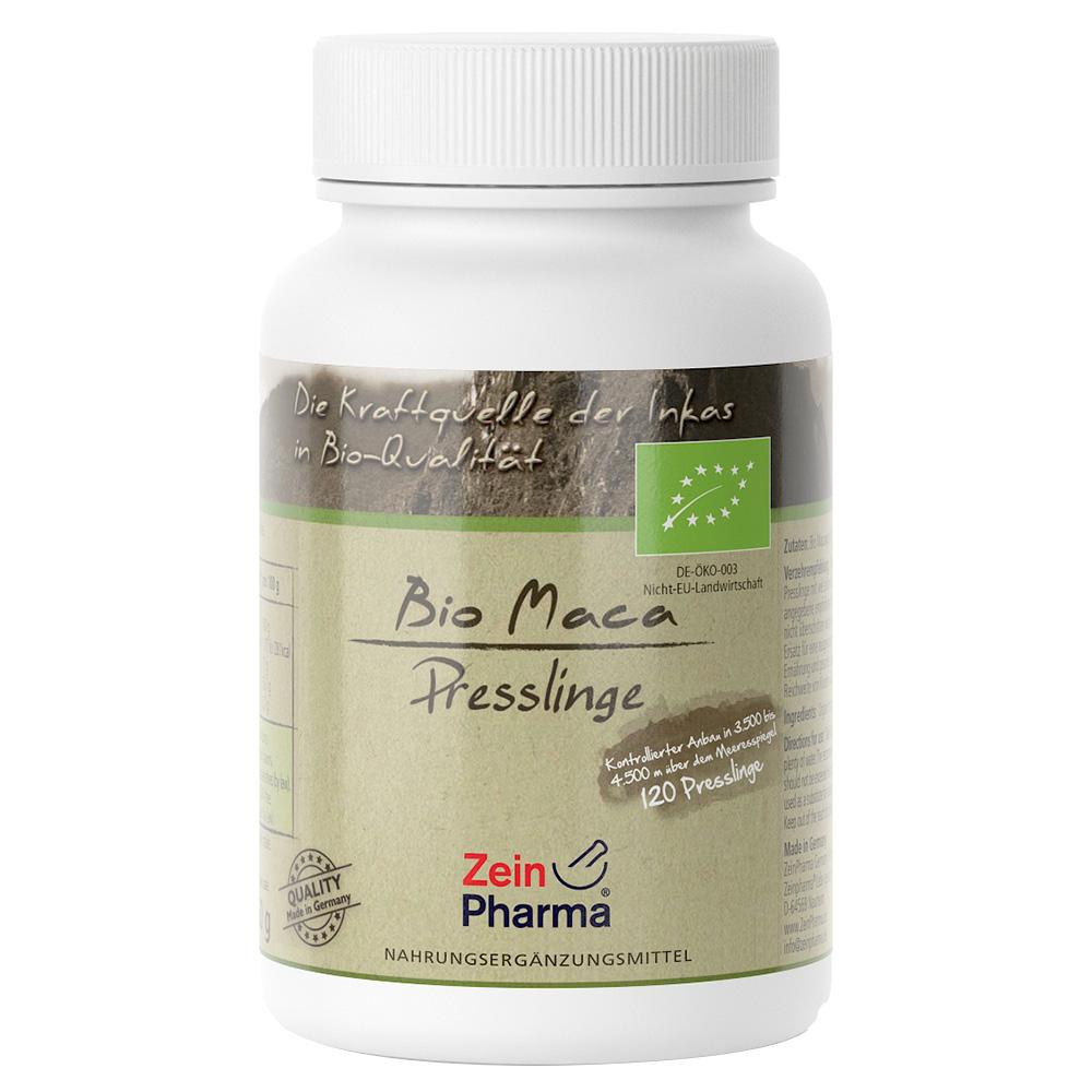 ZeinPharma® Bio Maca Presslinge