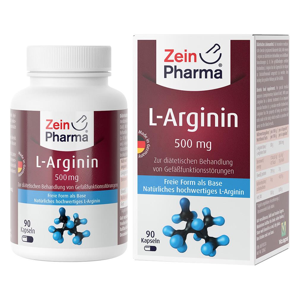 ZeinPharma® L-Arginin 500 mg