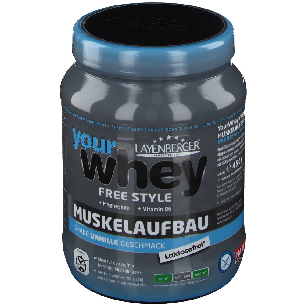 Layenberger® Your Whey Molkenprotein 4 Sport Pu...
