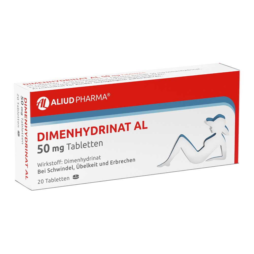 Dimenhydrinat AL 50 mg Tabletten