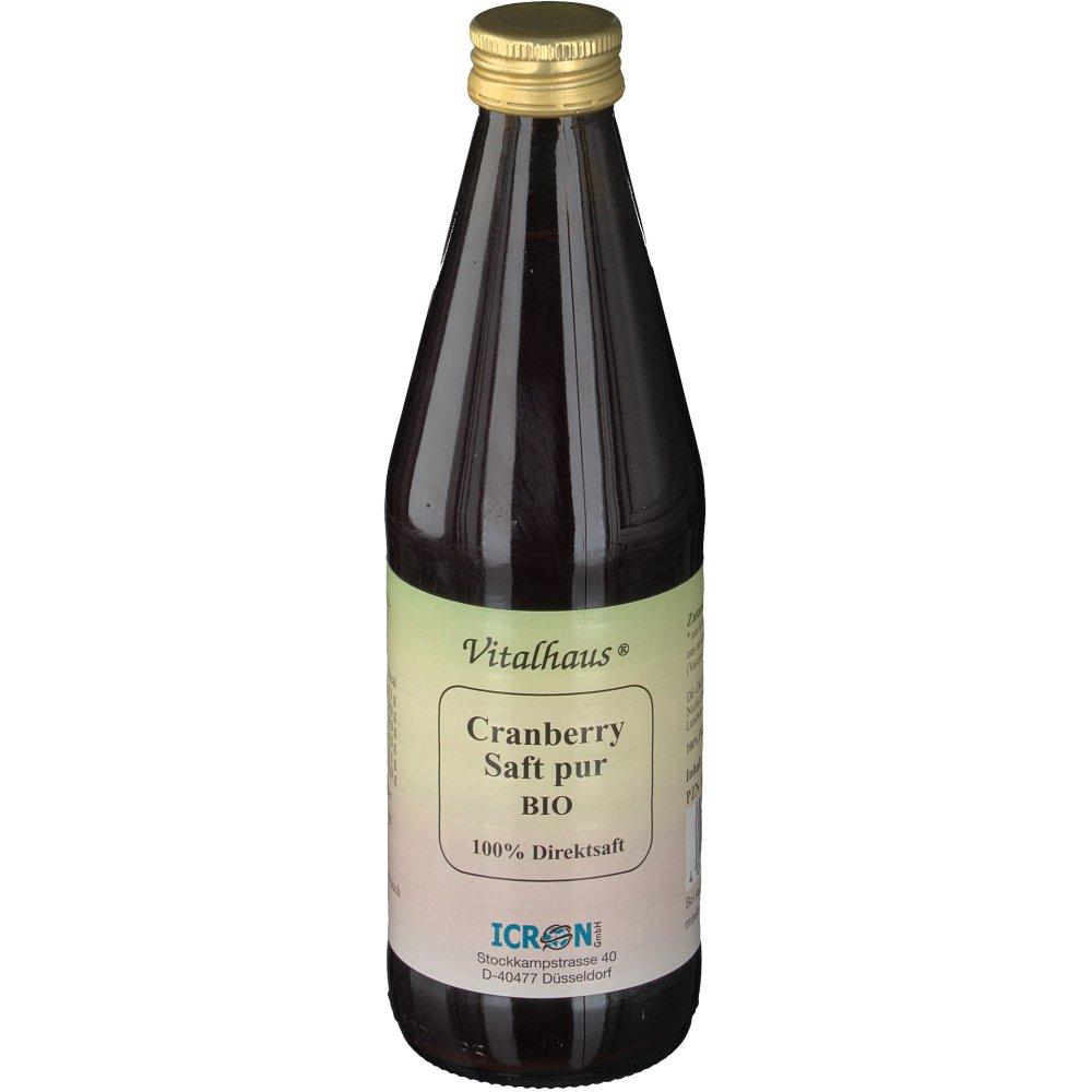 Vitalhaus® Cranberry Saft Pur Bio