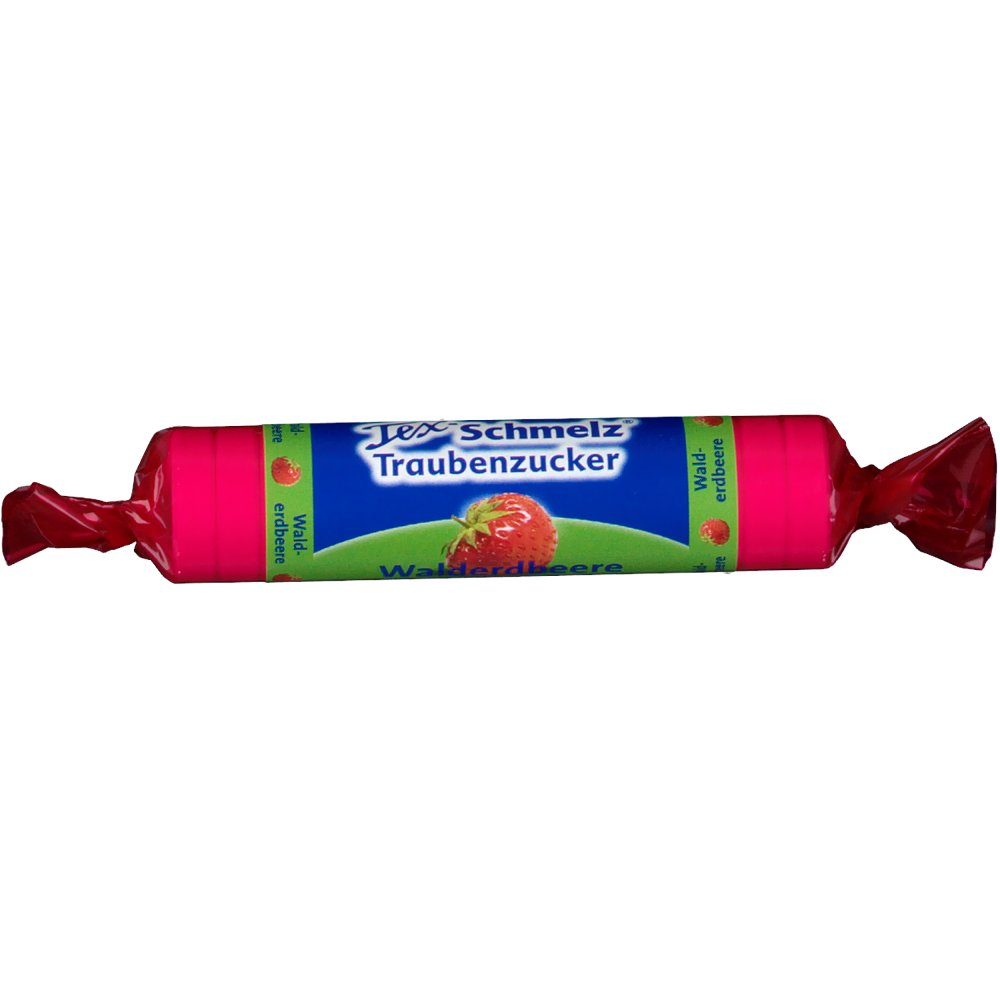 Tex-Schmelz® Traubenzucker Walderdbeere