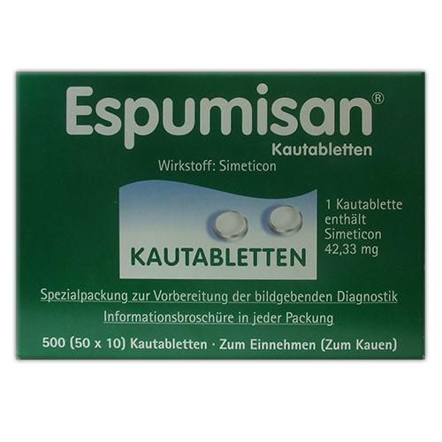 Espumisan® Kautabletten für bildgebende Diagnostik