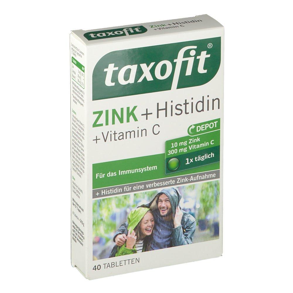 taxofit zink plus histidin vitamin c depot shop. Black Bedroom Furniture Sets. Home Design Ideas