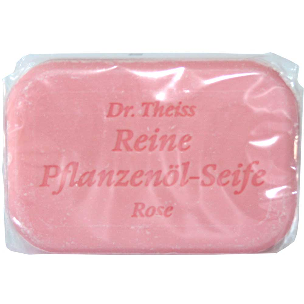 Dr. Theiss Reine Pflanzenöl-Seife Rose