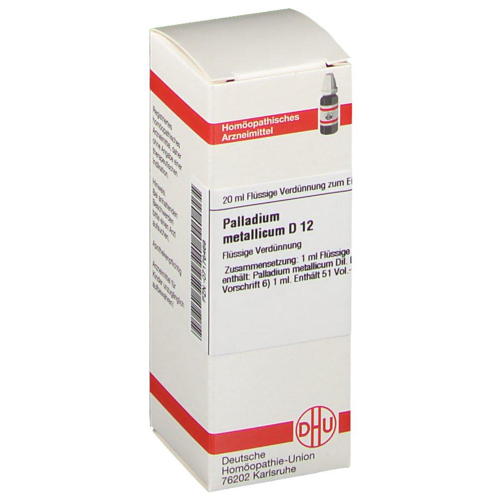 DHU Palladium Metallicum D12