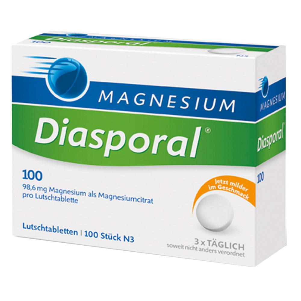 magnesium diasporal 100 lutschtabletten shop. Black Bedroom Furniture Sets. Home Design Ideas