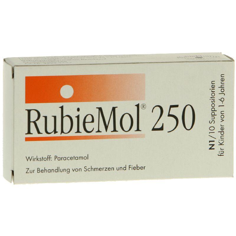 Rubiemol 250 Kleinkdr.Suppos.