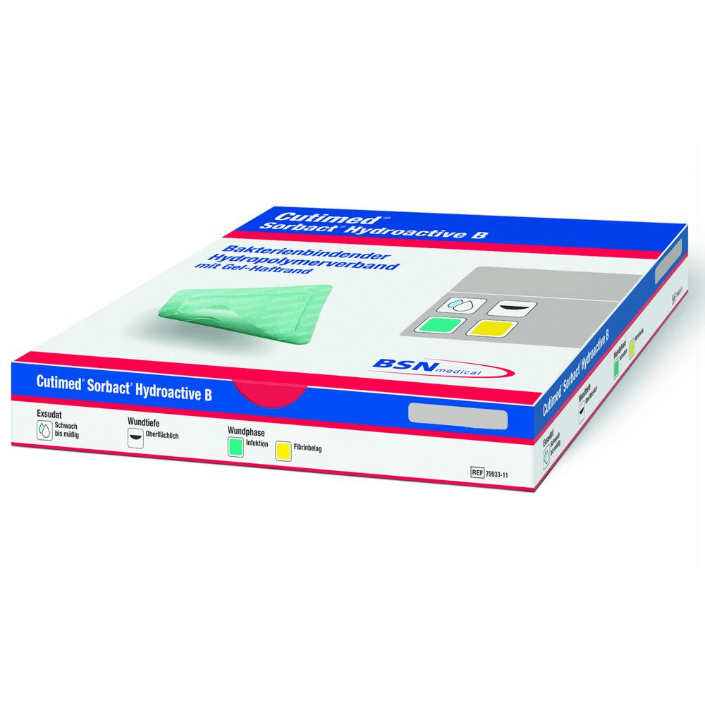 Cutimed® Sorbact Hydroactive B 7 cm x 8,5 cm