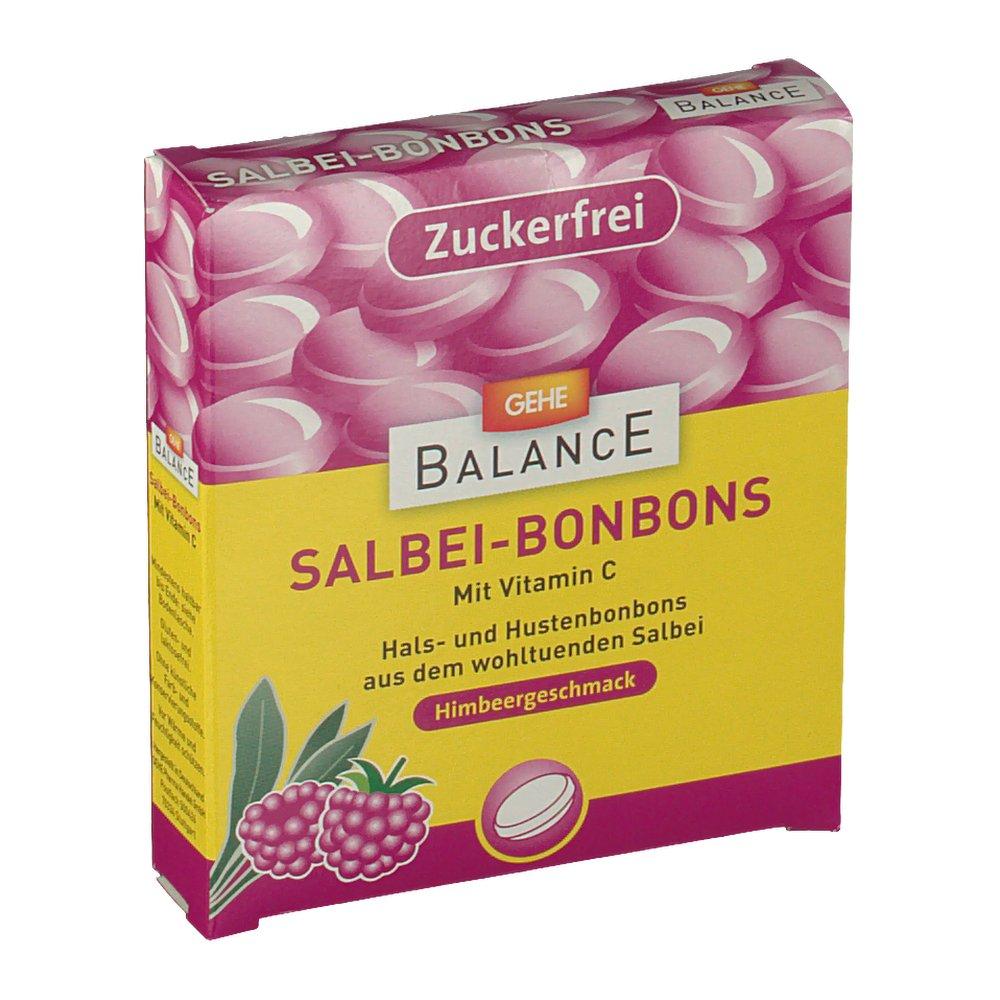Gehe Balance Salbei-Bonbons Himbeergeschmack