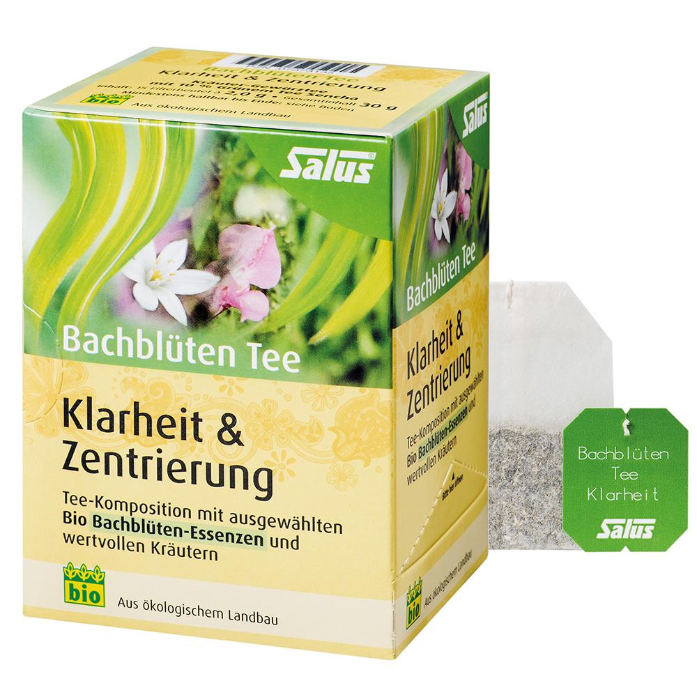 """Salus® Bachblüten Tee """"Klarheit & Zentrierung"""