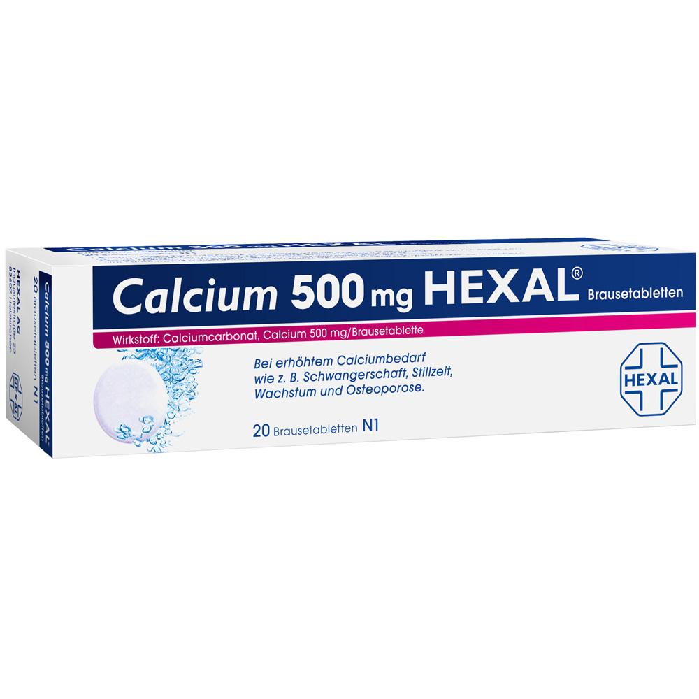 Calcium 500 Hexal® Brausetabletten