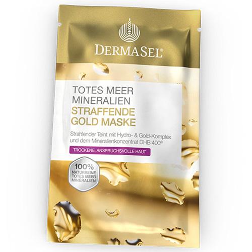 Dermasel® Exklusiv Totes Meer Maske Goldrausch
