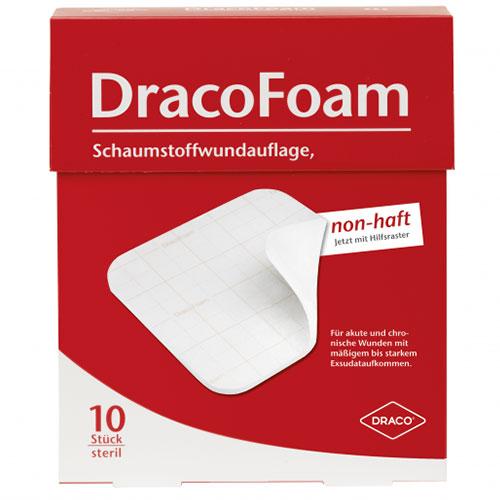 DracoFoam non-haft steril 5 x 5 cm